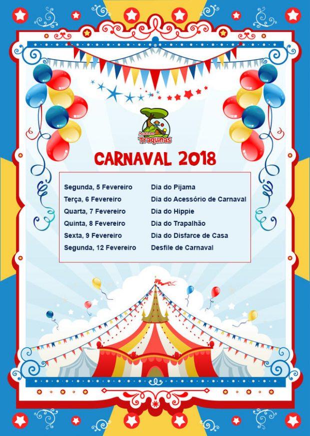 Programa Semana de Carnaval 2018